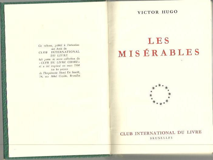 LES MISERABLES.